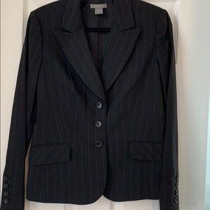 Ann Taylor Pinstripe Jacket, Sz 8